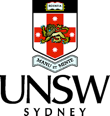University of New South Wales transparent logo